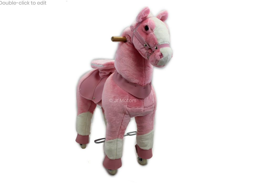 Load image into Gallery viewer, Pink | Ride on Horse with Sounds - Shop Remote control kids electric cars & motorcycles