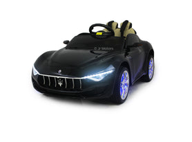 Black | Licensed Maserati with Touchscreen TV RC Electric Ride On Car - Shop Remote control kids electric cars & motorcycles