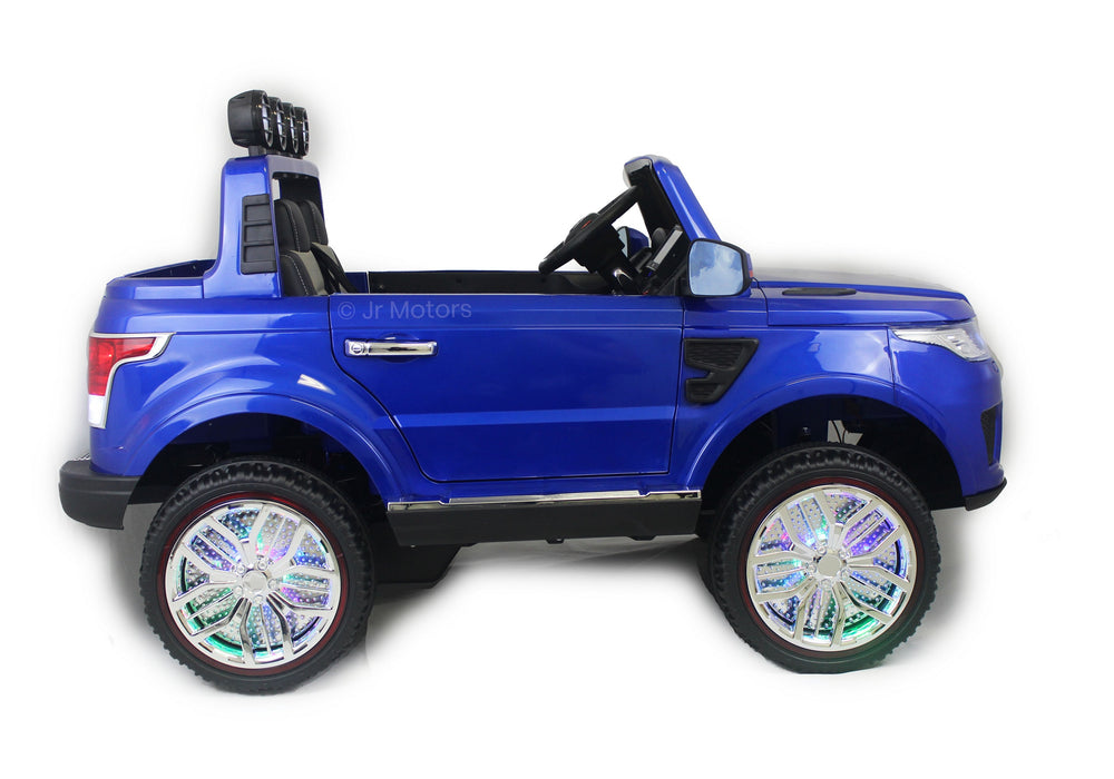 Load image into Gallery viewer, Blue | 2018 Land Rover RC Electric Ride on Car with touch screen TV - Shop Remote control kids electric cars & motorcycles