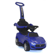 Load image into Gallery viewer, Blue | 3-in-1 Maserati 6V Electric Push Car - Shop Remote control kids electric cars & motorcycles