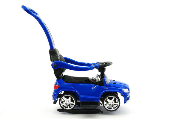 Blue | Licensed Mercedes Benz Push Ride on Car for Toddlers