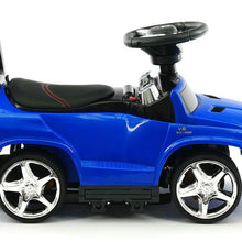 Load image into Gallery viewer, Blue | Licensed Mercedes Benz Push Ride on Car for Toddlers - Shop Remote control kids electric cars & motorcycles