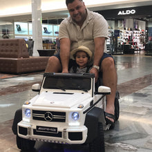 Load image into Gallery viewer, White | Mercedes Benz AMG G63 6x6 Truck (Fully Loaded) - Shop Remote control kids electric cars & motorcycles