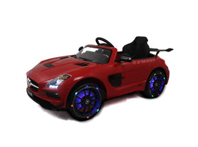 Red | Mercedes SLS with Touchscreen TV, RC, Electric Ride on Car - Shop Remote control kids electric cars & motorcycles