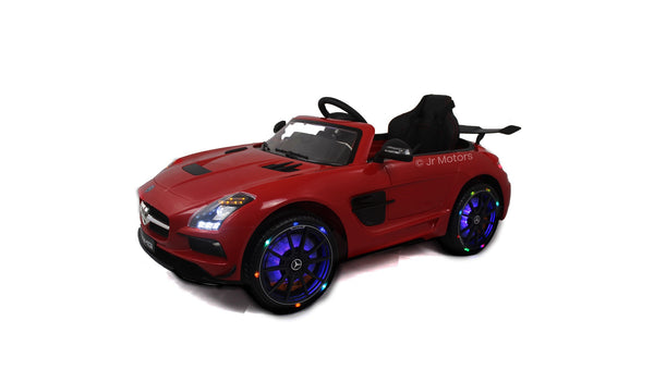 Red | Mercedes SLS with Touchscreen TV, RC, Electric Ride on Car