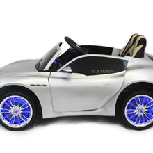 Load image into Gallery viewer, Silver | Licensed Maserati with Touchscreen TV RC Electric Ride On Car - Shop Remote control kids electric cars & motorcycles