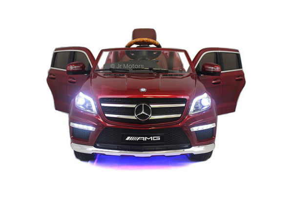 Candy Red Licensed Mercedes GL63 w/ Integrated MP3 Player RC Ride on Car