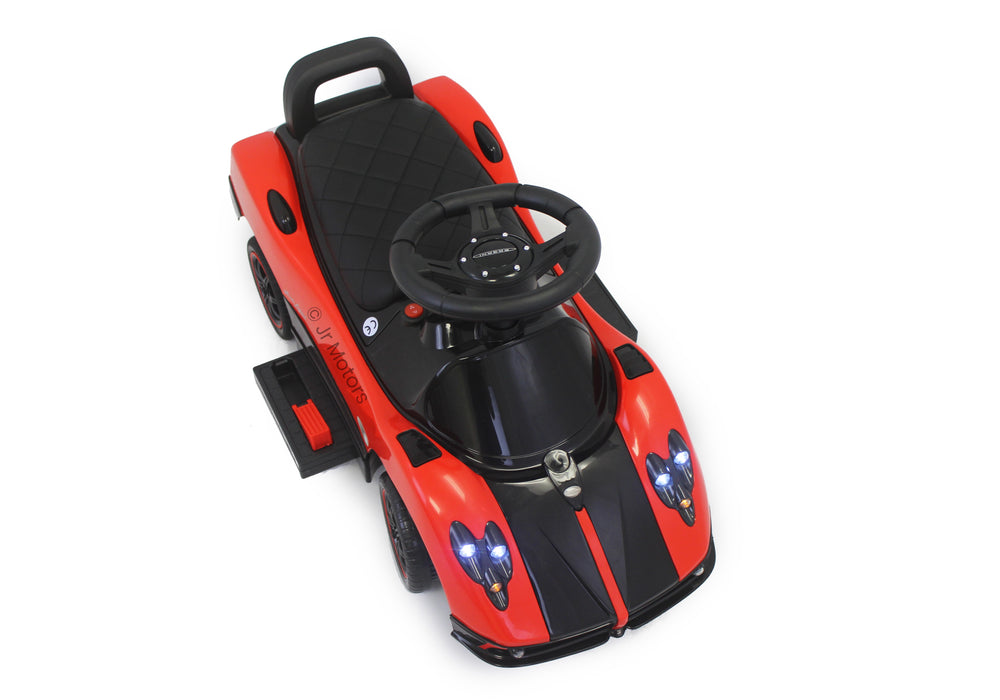 Load image into Gallery viewer, Red | 3-in-1 Licensed Pagani Convertible Electric Push-Ca - Shop Remote control kids electric cars & motorcycles