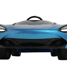 Load image into Gallery viewer, Blue | 12V Licensed Mclaren Kid Car with Lambo Doors and Parental Remote