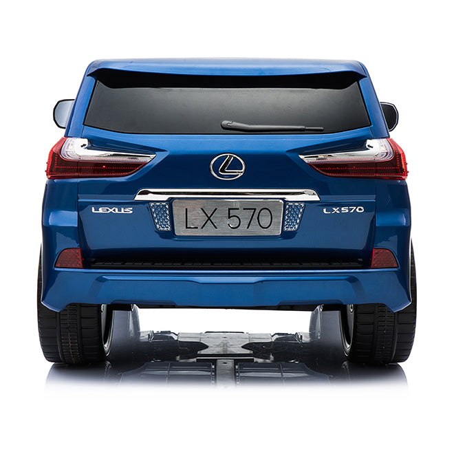 Load image into Gallery viewer, 24V Licensed Lexus LX570 SUV with Toucschreen TV and Parental Remote | Royal Blue