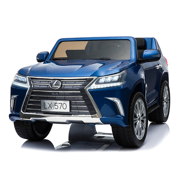 24V Licensed Lexus LX570 SUV with Toucschreen TV and Parental Remote | Royal Blue