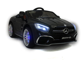Black | Licensed Mercedes AMG Ride on Car With Touchscreen TV