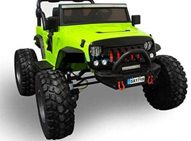 Lifted Kids 4x4 Jeep with Bluetooth and Parental Remote