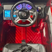 Load image into Gallery viewer, red-mercedes-g63-gwagon-6x6-6wheeldrive-parental-remote-control-12v-paint