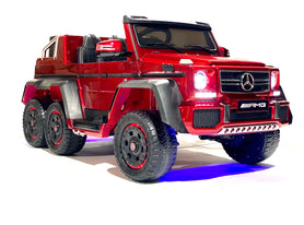Candy Red | Mercedes Benz AMG G63 6x6 Truck (Fully Loaded)