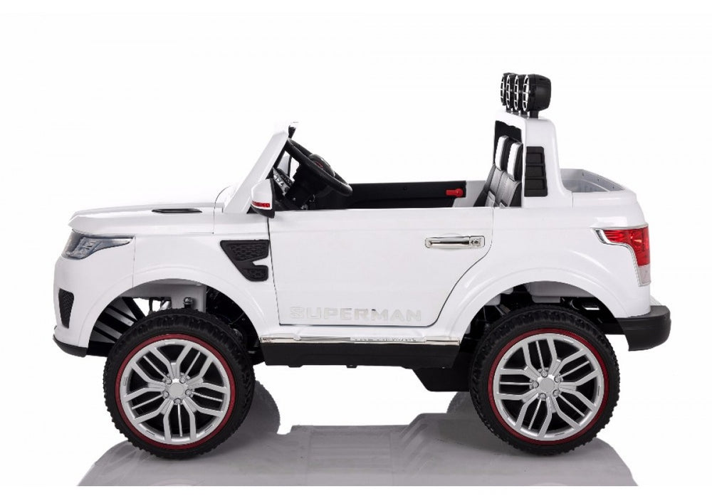 Load image into Gallery viewer, White | 2020 Land Rover RC Electric Ride on Car with touch screen TV