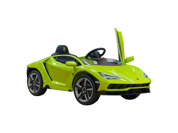 2020 Licensed Lamborghini Centenario Exotic Kids Car with Bluetooth | Lime Green