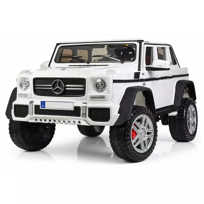 Load image into Gallery viewer, 24 Volt Mercedes Maybach Landaulet Edition 2 Seater Luxury Kids Truck