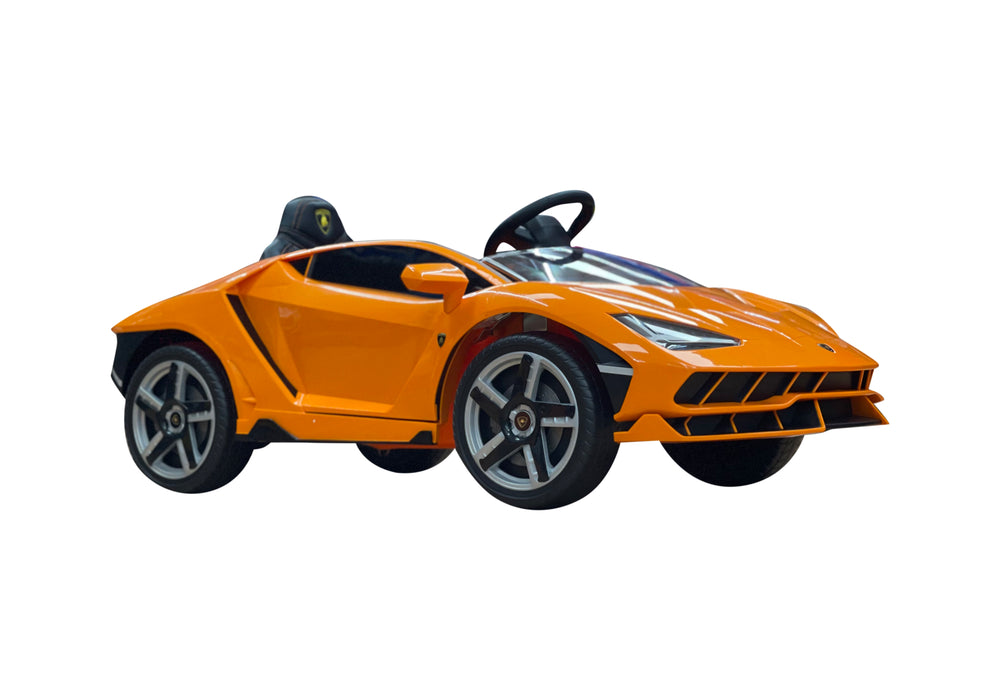 Load image into Gallery viewer, 2020 Licensed Lamborghini Centenario Exotic Kids Car with Bluetooth | Orange