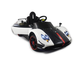 White | 2019 Licensed Pagani Special Edition RC Kids Car with Touchscreen TV - Shop Remote control kids electric cars & motorcycles