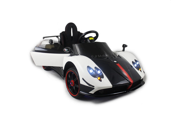 White | 2019 Licensed Pagani Special Edition RC Kids Car with Touchscreen TV