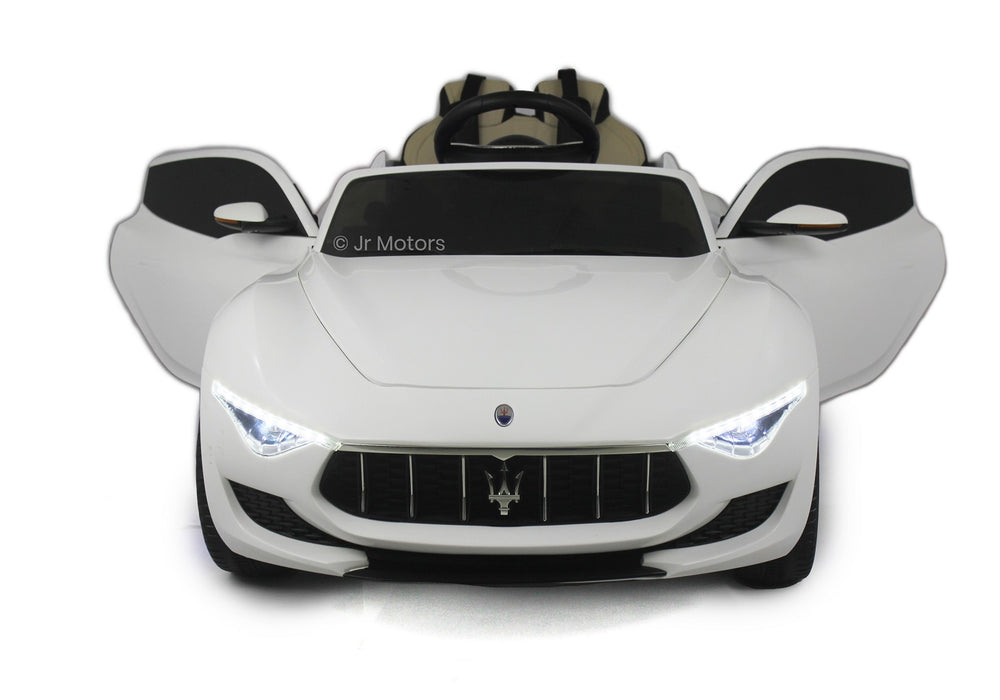 Load image into Gallery viewer, White | Licensed Maserati with Touchscreen TV RC Electric Ride On Car - Shop Remote control kids electric cars & motorcycles