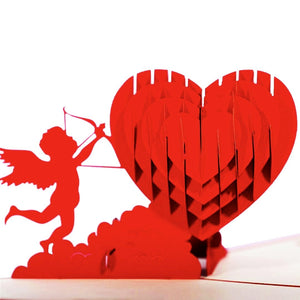 Cupid Popup Card