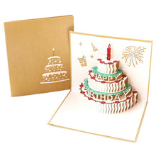 Load image into Gallery viewer, Happy Birthday Cake Card