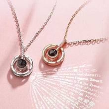 Load image into Gallery viewer, 100 Languages Pendant Necklace