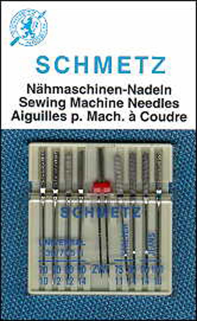 Schmetz Combination Pack Machine Needle 9ct