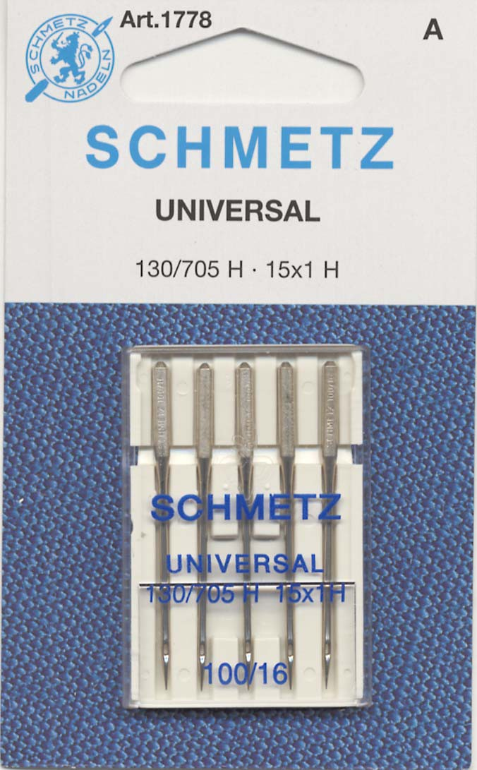 Schmetz Universal Machine Needle Size 16/100