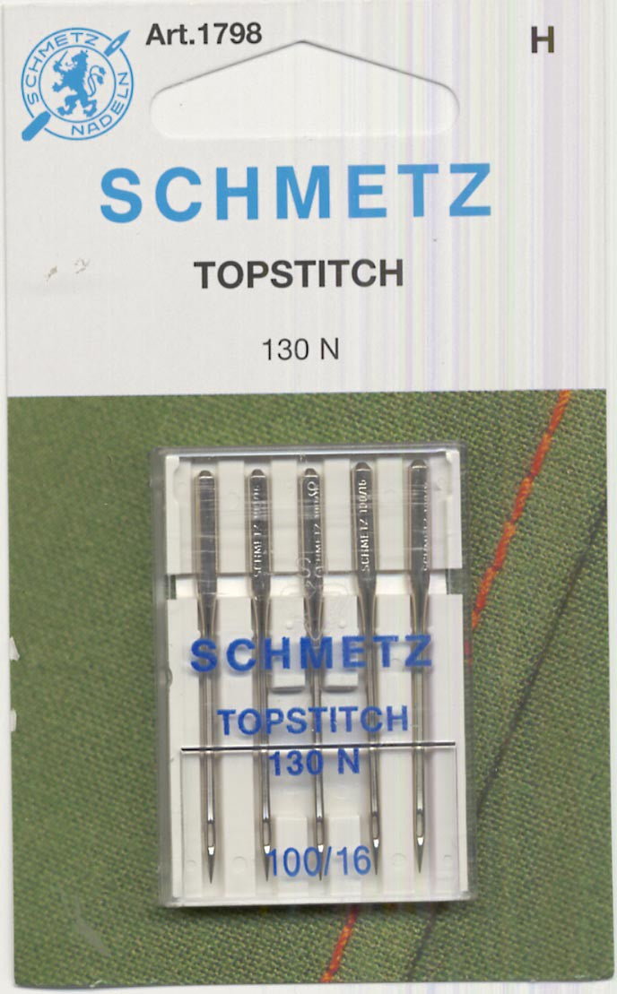 Schmetz Topstitch Machine Needle Size 16/100