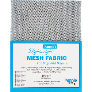Mesh Fabric 18x54 Pewter