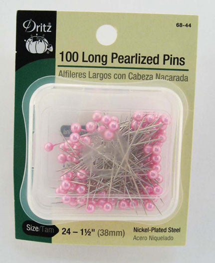 Long Pearlzed Pin 1.5 100ct Pk