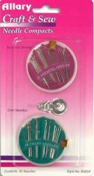 VALUE PACK HAND NEEDLE COMPACT S FOR SEWING & CRAFTS 45 COUNT