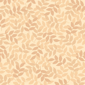 Harmony by Quilting Treasures COTTON LEAF/SAND