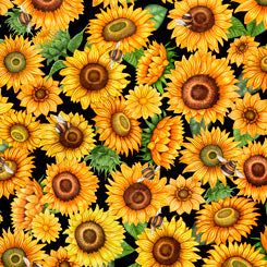 Always Face the Sunshine by Dan Morris with QT Fabrics