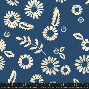 Golden Hour Rayon Bluebell