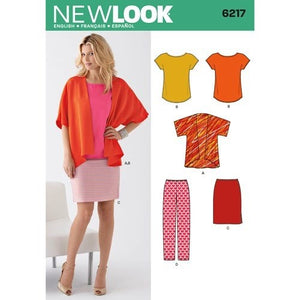 New Look Pattern 6217