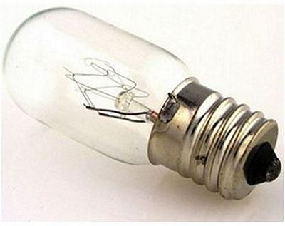 Bulb 15 Watt 5/8 Screw-In Clear 5/box