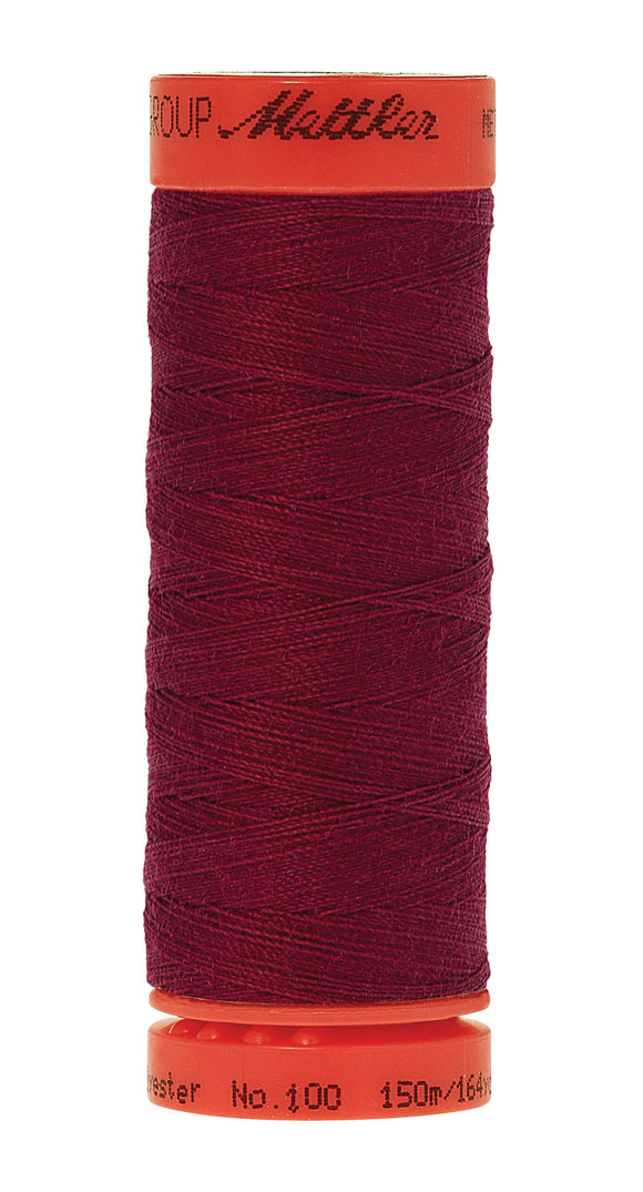 Metrosene Poly Thread 50wt 150m/164yds Pomegranate Old Number 1161-0603