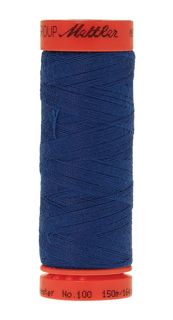 Metrosene Poly Thread 50wt 150m/164yds Royal Blue Old Number 1161-0790