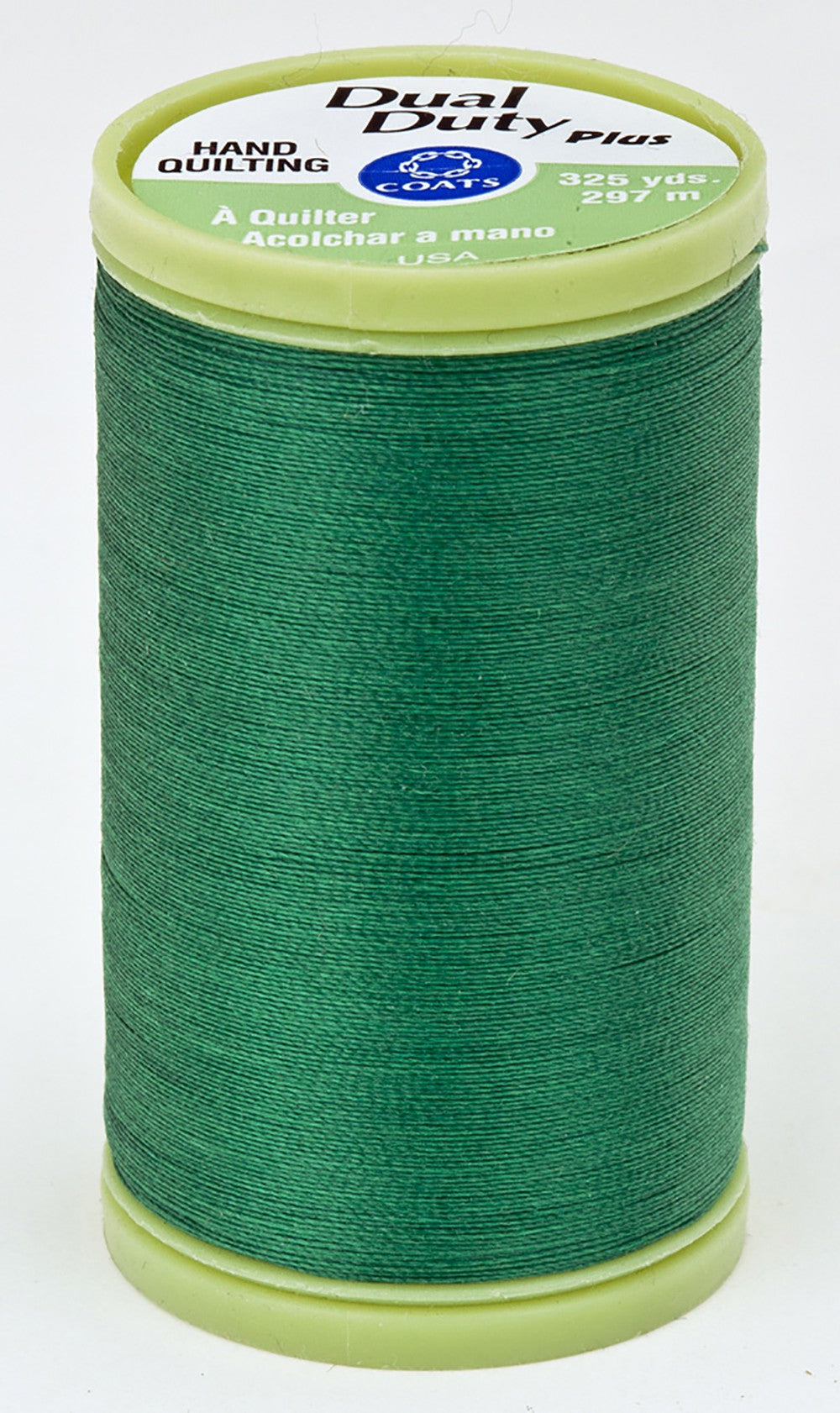 Dual Duty Plus Hand Quilting Thread 325 yds Field Green