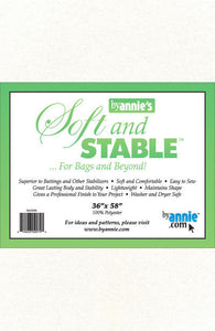 ByAnnie's Soft and Stable 36inx58in white
