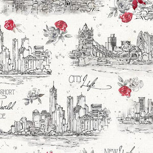 Wilmington Fabrics Travel the World Cities