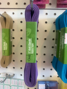 Knit elastic purple