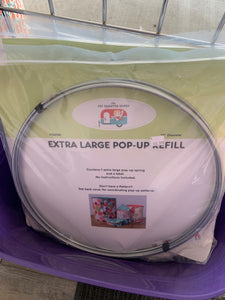 Extra large pop up refill