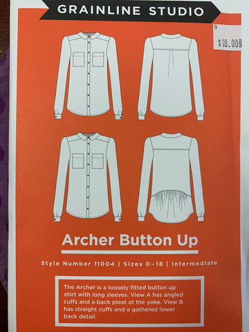Grain line studio archer button up