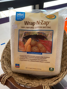 Wrap-N-Zap Cotton Batting