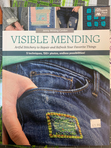 Visual mending book